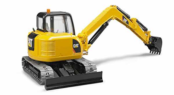 CAT Mini Excavator - 1:16 Scale - Farm toys from Little Farmers