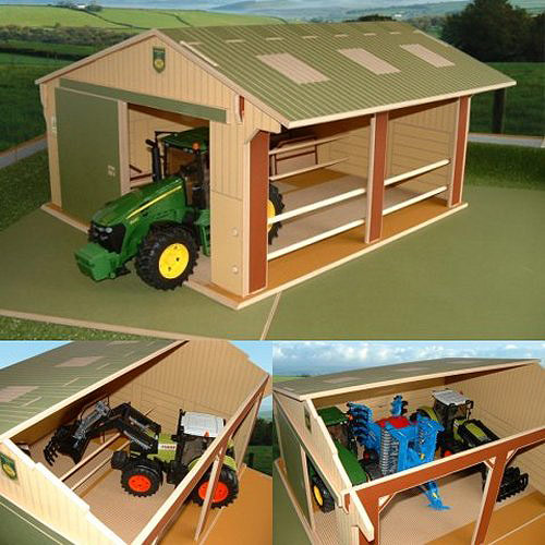 Large Scale Utility Shed