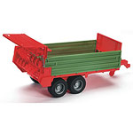manure spreading trailer