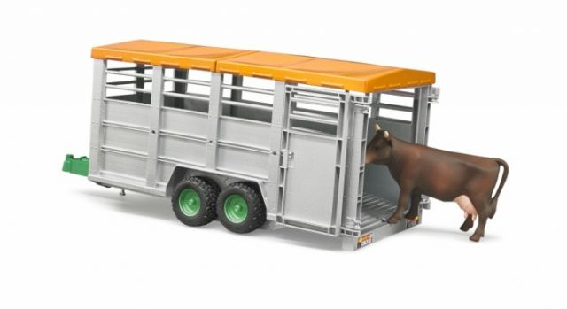 livestock trailer with 1 cow
