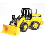 articulated road loader - yellow
