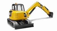 cat mini excavator - 1:16 scale