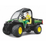 john deere gator with driver