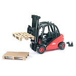 linde fork lift h30d with 2 pallets