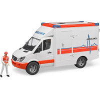 mb sprinter ambulance with driver - 1:16 scale