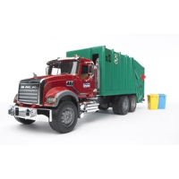 mack granite garbage truck - 1:16 scale
