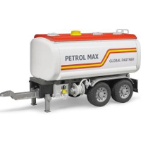 tank trailer for trucks - 1:16 scale