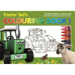 tractor ted - colouring book
