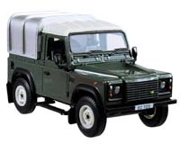 land rover defender 90 green