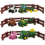 johnny tractor and friends farm adventure playset