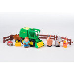 john deere harvest time playset - first farming fun