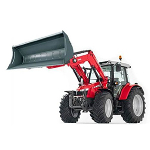 massey ferguson 6616 tractor and loader
