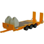 kane low loader trailer with 2 dumpty sacks - big farm