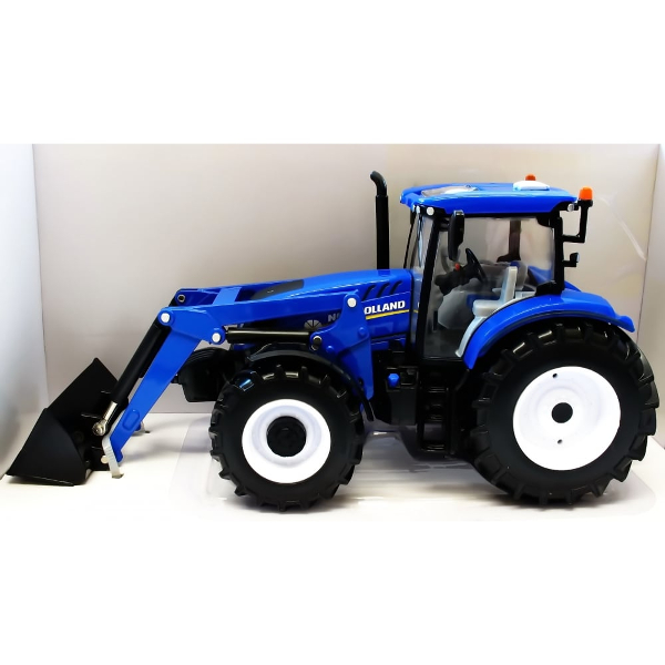 1:32 new holland t6180 tractor and front loader