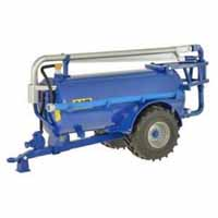 blue slurry tanker - roadside -