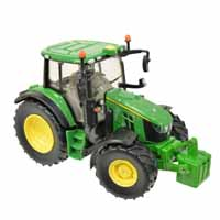 britains john deere 6120m tractor - 1:32 scale