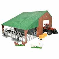 britains building set with case tractor - 1:32 scale