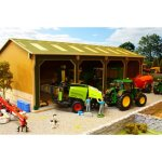 big brushwood basics open barn 4 bay