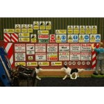 farm sticker set