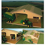 3 bay multi purpose shed