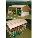 tractor & implement shed