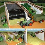 monster silage clamp