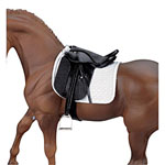 stoneleigh ii dressage saddle - 1:9 scale