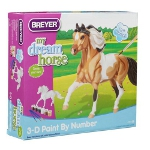 my dream horse - 3d paint-by-number activity kit