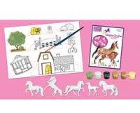 horse crazy - colourful breeds paint kit