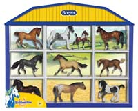 stablemates horse lovers shadow box - 1:32 scale