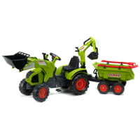 claas axos 330 with swivel seat