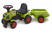 falk claas baby tractor with trailer