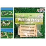 wooden fences 6 in a pack