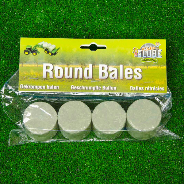 round bales - wrapped (set of 4)