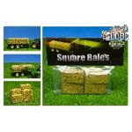 big square bales  - pack of 4