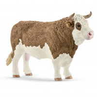 simmental bull - 1:20 scale