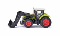 claas axion with front loader - 1:87 scale