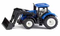 new holland with front loader - 1:87 scale