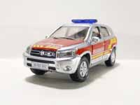 miniature emergency vehicle - toyota rav 4 offroading - 1:55 scale