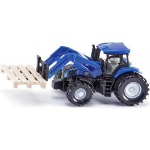 1:87 new holland tractor with fork and pallet