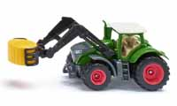 fendt vario 1050 with bale gripper and bale - 1:87 scale