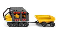 argo avenger with trailer - 1:87 scale