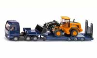 man tgx xxl low loader and jcb 457 wheel loader - 1:87 scale