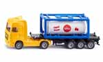 truck with tank and container - 1:87 scale