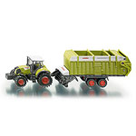 claas tractor & silage trailer