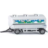 milk collectiong truck trailer - 1:50 scale