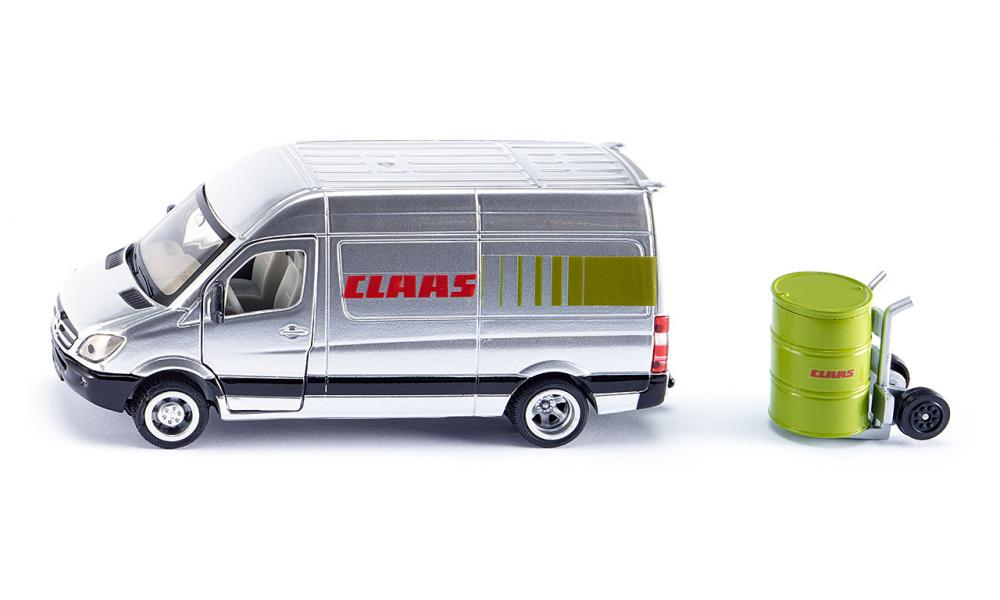 mercedes sprinter claas service vehicle