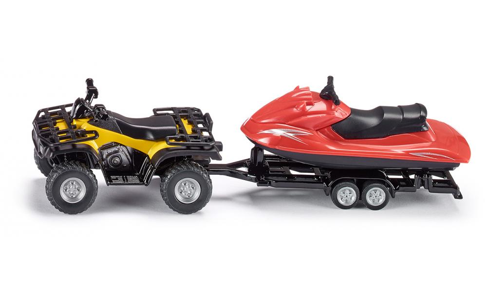 quad bike with jet ski