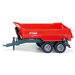 krampe halfpipe twin axled tipping trailer