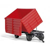 4 wheel side-tipping trailer